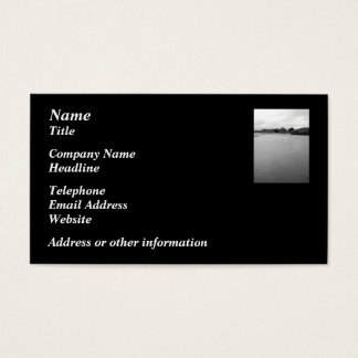 A Calm Bay in Ireland. Near Rosscarbery. Business Card