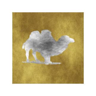 A Camel Canvas Print