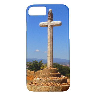 A Camino monument outside Astorga, Spain Case-Mate iPhone Case