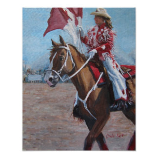 A Canadian Cowgirl Poster