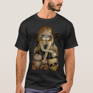 A Candle In The Dark gothic skull fairy Shirt