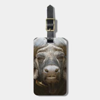 A Cape Buffalo (Syncerus Caffer) Luggage Tag