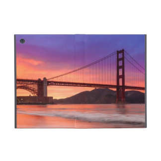 A capture of San Francisco's Golden Gate Bridge iPad Mini Cover