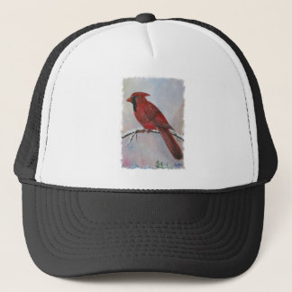 A Cardinal for Christmas Trucker Hat