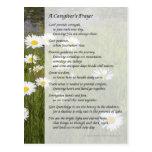 A Caregiver's Prayer - Postcard