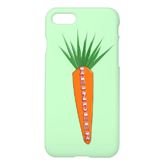 A Carrot for Christmas Reindeer iPhone Case