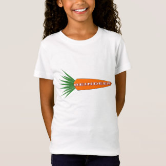 A Carrot for Christmas Reindeer Kids T Shirt