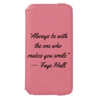 A case the smiles incipio watson™ iPhone 6 wallet case