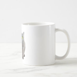 a cat coffee mug