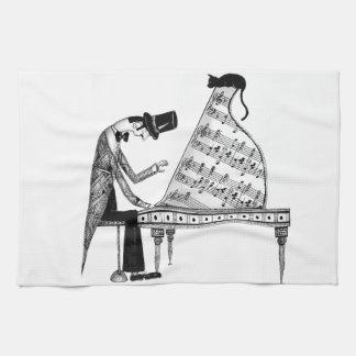 A cat named Sonata Kitchen Towel