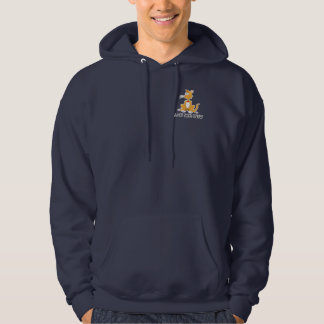 A Cat Says Meow Hooded Sweatshirts
