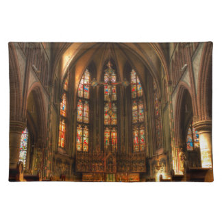 A cathedral placemat