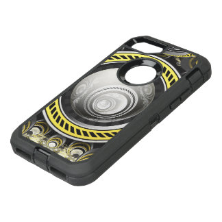 A Cautionary Fractal Cake Baked for GlaDOS Herself OtterBox Defender iPhone 8/7 Case