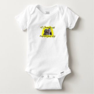 A Cavoodle will Brighten your Day. Baby Onesie