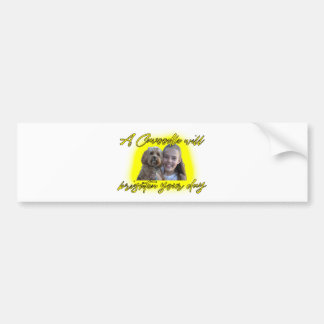 A Cavoodle will Brighten your Day. Bumper Sticker