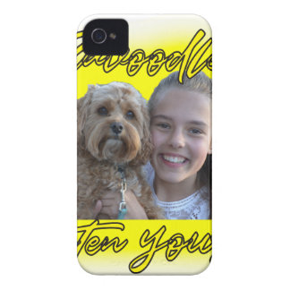 A Cavoodle will Brighten your Day. iPhone 4 Case-Mate Case