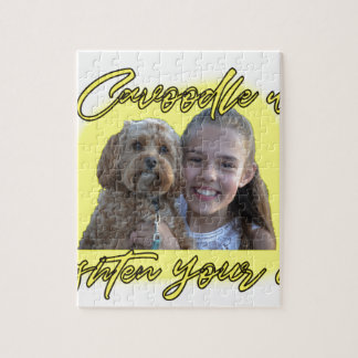 A Cavoodle will Brighten your Day. Jigsaw Puzzle