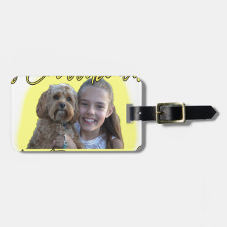 A Cavoodle will Brighten your Day. Luggage Tag