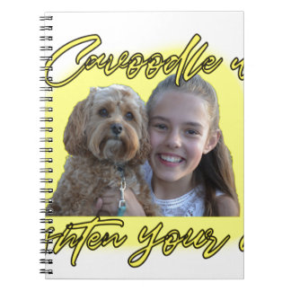 A Cavoodle will Brighten your Day. Spiral Notebook