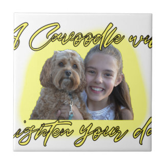 A Cavoodle will Brighten your Day. Tile