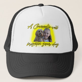 A Cavoodle will Brighten your Day. Trucker Hat
