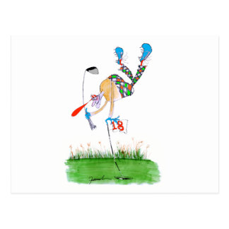 a celebration - golf, tony fernandes postcard