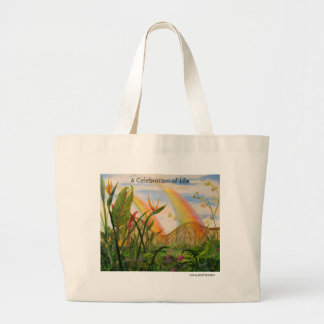 A Celebration of Life Large Tote Bag