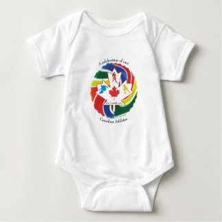 A Celebration of our Canadian Athletes Baby Bodysuit