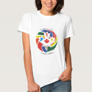 A Celebration of our Canadian Athletes T Shirts