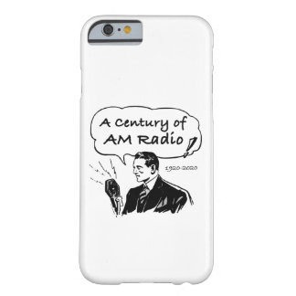 A Century of AM Radio Barely There iPhone 6 Case
