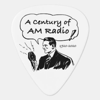 A Century of AM Radio Guitar Pick
