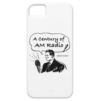 A Century of AM Radio iPhone 5 Cases