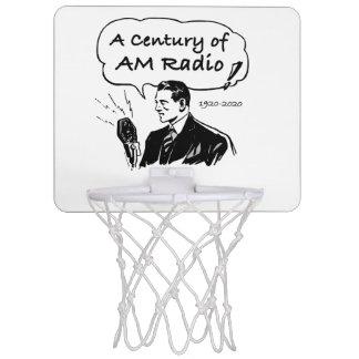 A Century of AM Radio Mini Basketball Hoop