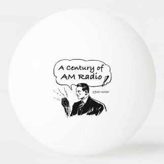 A Century of AM Radio Ping Pong Ball