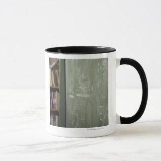 A chalkboard mug