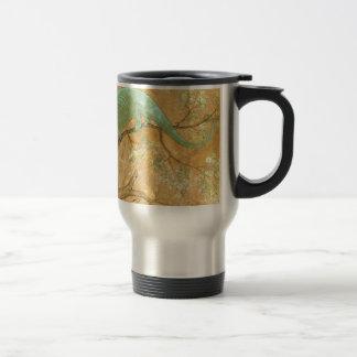 A Chameleon by Ustad Mansur Travel Mug