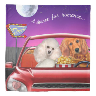 A Chance for Romance Duvet Cover