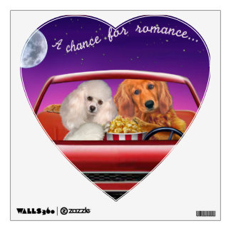 A Chance for Romance Wall Sticker