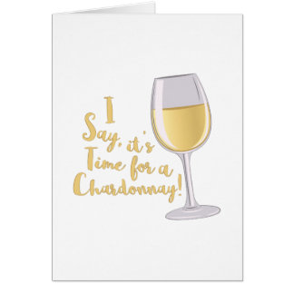 A Chardonnay Card