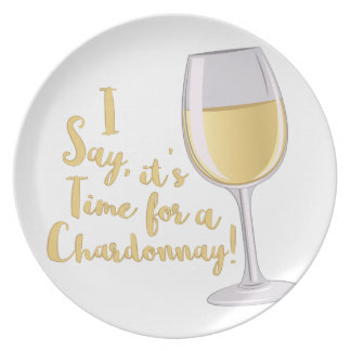 A Chardonnay Party Plate