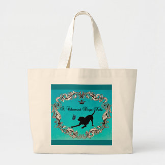 A Charmed Dogs Tale Jumbo Tote Bag