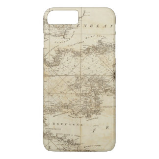 A chart of the British Channel iPhone 7 Plus Case