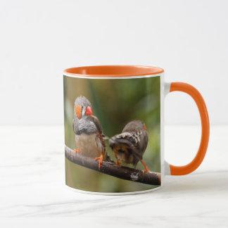 A Cheeky Pair of Zebra Finches Mug