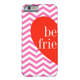 A) Chevron Pink Best Friends Matching Case