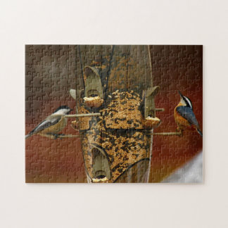 A Chickadee & A Nuthatch Puzzles