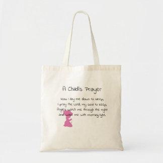 A Child's Prayer Tote Bag