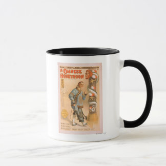 """A Chinese Honeymoon"" Theatrical Play Poster Mug"