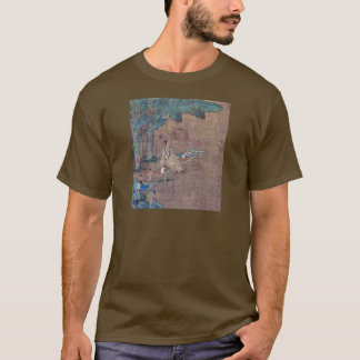 A Chinese sage sitting beneath banana trees T-Shirt