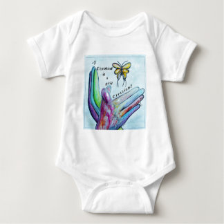 A Christian is a New Creation Baby Bodysuit