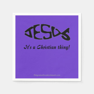 A Christian Thing Disposable Napkin